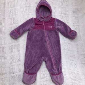 The North Face Infant Oso one piece snowsuit
